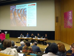 Les intervenants de la conférence-débat du 4 avril 2009